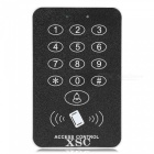 XSC Button Pressing Digital Door Access Control System -Black + Silver
