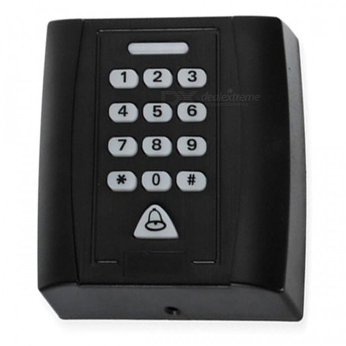 XSC KS158 All-in-One Non-Touch Sensor Access Control System - BlackOther Security Products<br>Form  ColorBlackModelKS158MaterialABSQuantity1 DX.PCM.Model.AttributeModel.UnitRemote Control RangeNo DX.PCM.Model.AttributeModel.UnitVoice DecibelsNoPower SupplyOthers,NoBattery included or notNoBattery NumberNoPower AdaptornoPower AdapterOthers,No power supplyPacking List1 x XSC KS158 access control system5 x ID buckle cards1 x English user manual1 x Chinese user manual5 x Screws4 x Screw caps1 x Cable<br>