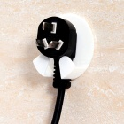 Powerful Strong Paste Type Hook for Power Plug (4 PCS)