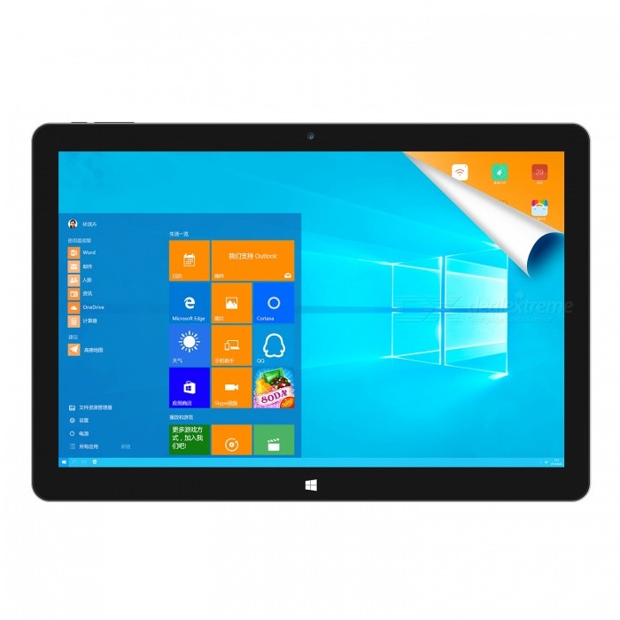 "Teclast TBook 12 Pro 12.2"" IPS Win10 + Android 5.1 Tablet PC - Silver"