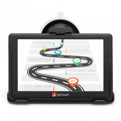 Junsun 5 inch Capacitive Screen HD Car GPS Navigation