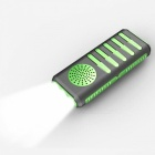 Wireless Bluetooth V4.0 Speaker Mobile Power LED Strong Light - Black