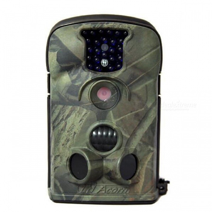 LTL-5210A HD MMS Infrared Monitoring Hunting Camera -Desert CamouflageCamcorders<br>Form  ColorDesert Digital CamouflageModelLTL-5210AShade Of ColorGreenMaterialABSQuantity1 DX.PCM.Model.AttributeModel.UnitImage SensorOthers,HD CMOSImage Sensor SizeOthers,2.36inchAnti-ShakeYesFocal Distance3.6 DX.PCM.Model.AttributeModel.UnitFocusing Range20mBuilt-in SpeedliteNoWide Angle52°ApertureF-3.1Effective Pixels1200dpiMax. Pixels12MPPicture FormatsJPEGStill Image Resolution5MP=2560x1920; (3MP=2048x1536 12MP=4032x3024Video FormatAVIVideo Resolution640x480: 20fps; 320x240: 20fpsVideo Frame Rate30Cycle RecordYesISO200Exposure Compensation3;+0.0;-1Supports Card TypeSD,Others,SIMSupports Max. Capacity32 DX.PCM.Model.AttributeModel.UnitBuilt-in Memory / RAMNoInput InterfaceOthers,USBOutput InterfaceAVLCD ScreenYesScreen TypeOthers,TFT / Color / black and white automatic conversionScreen Size2.36 DX.PCM.Model.AttributeModel.UnitScreen Resolution1080PBattery included or notNoBattery Measured Capacity 5200 DX.PCM.Model.AttributeModel.UnitNominal Capacity5200 DX.PCM.Model.AttributeModel.UnitBattery TypeAABattery Quantity4 / 8 DX.PCM.Model.AttributeModel.UnitVoltage5~12 DX.PCM.Model.AttributeModel.UnitBattery Charging Time4Low Battery AlertsYesWaterproofYesSupported LanguagesEnglish,Simplified ChineseOther FeaturesLTL5210A infrared induction camera is a machine which can form itself between the camera and the surveillance camera. Operating temperature range: -30~+70CPacking List1 x Digital camera1 x Wireless remote control1 x TV line1 x USB line1 x Binding rope1 x Users Manual1 x Antenna<br>