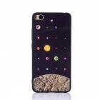 Starry Sky Pattern HD Embossed Edge Back Case for Xiaomi 5S