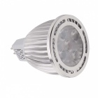 ywxlight MR16 5W 5-LED SMD 3030 viileän valkoisen LED Spotlight (10 kpl)