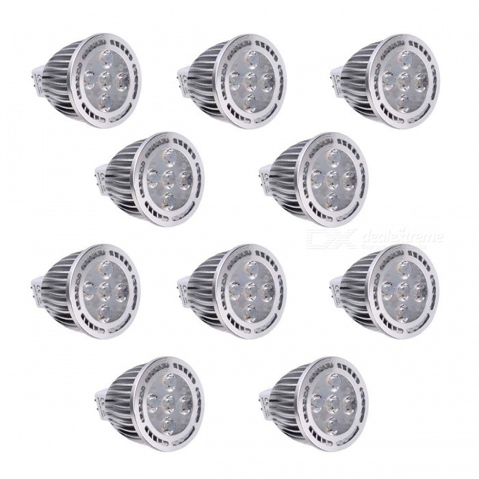 YWXLight MR16 5W 5 LED SMD 3030 chaud blanc LED Spotlight (10 PCS)