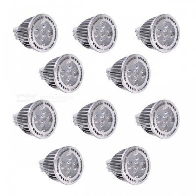 YWXLight MR16 5W 5-LED SMD 3030 Cool White LED Spotlight (10 PCS)