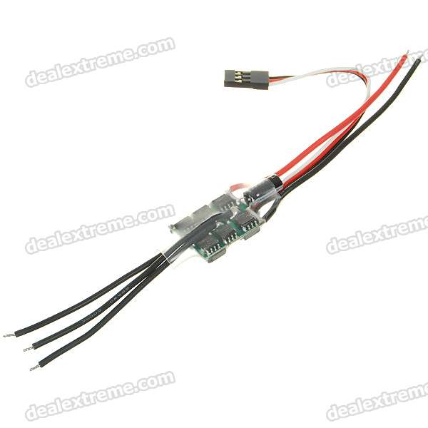 Speed Controller 10A BEC for Brushless Motors on R/C Helicopters mystery speed controller 50a bec for brushless motors 300 450 r c helicopters