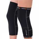 NUCKILY Legging Kneepads for Riding, Playing Basketball - Black (L)
