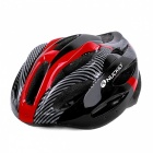 NUCKILY N39 Unisex Outdoor Riding Bike Helmet - Red + Black