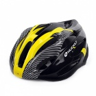 NUCKILY N39 Unisex Outdoor Riding Bike Helmet - Yellow + Black