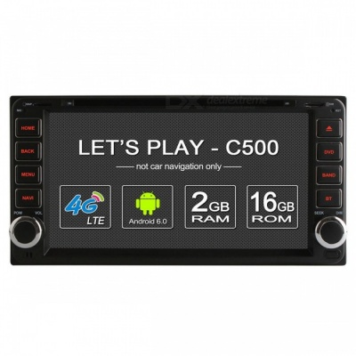 Ownice C500 Android 6.0 Quad-Core HD Car DVD Player, 2GB RAM, 16GB ROM
