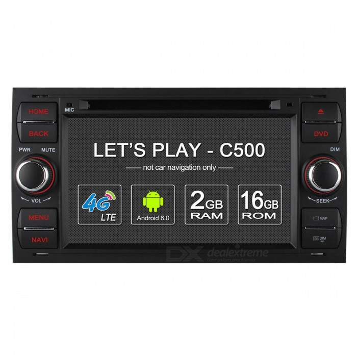Ownice C500 Android 6.0 Quad-Core Car DVD Player w/ 2GB RAM, 16GB ROM