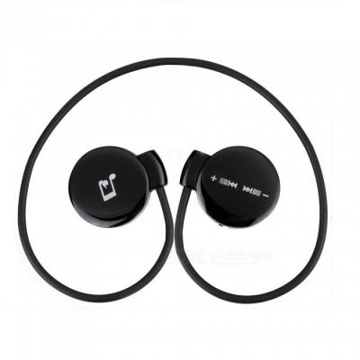 3A Bluetooth v4.1 Intelligent Touch / Sound Control Headset - Black