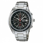 Casio Edifice EF-503D-1AV Watch - Silver + Black (Without Box)