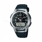 Casio AQ-180W-1BVDF Casual Watch - Silver/Black (Without Box)