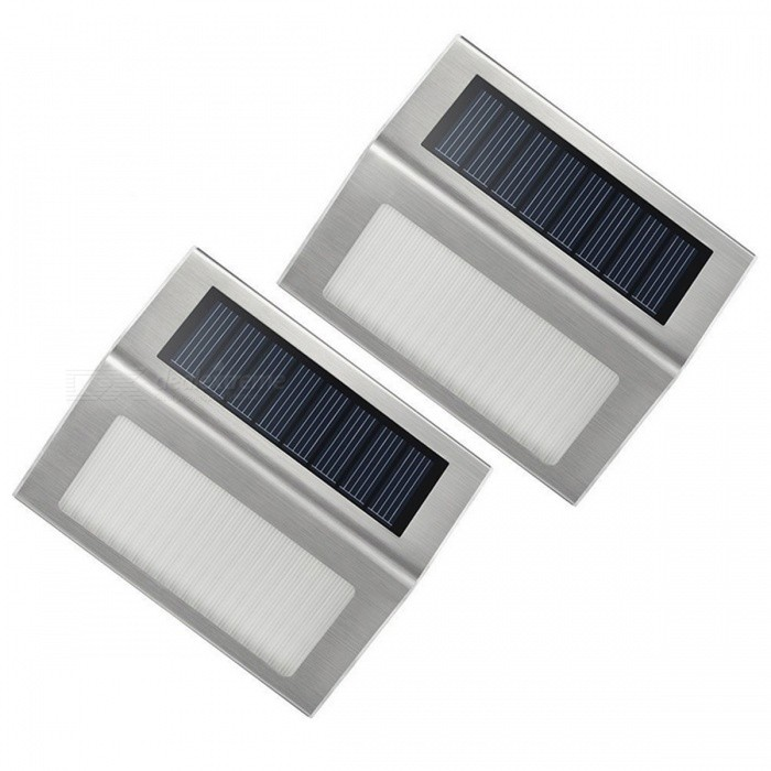MLSLED Solar-Power LED Street Lights / Garden Landscape Lamps (2 PCS)