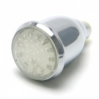 8010-A5 Chrome RGB 3-Color LED Temperature Control Rain Shower Head