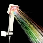 Grade A ABS Chrome Finish 7 Colors LED Shower Head - Silver