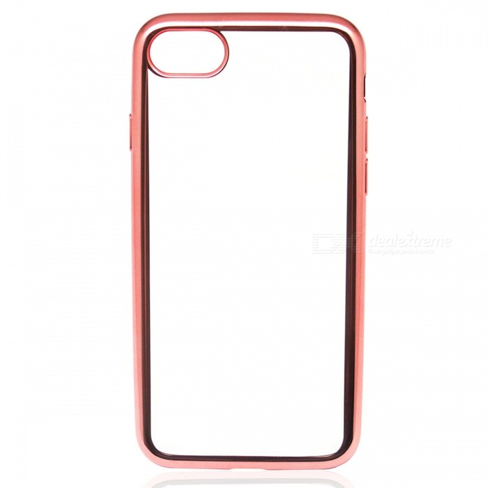 Electroplating TPU Back Case Cover for IPHONE 7 4.7 Inch