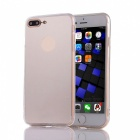 Protective TPU + PC Mirror Back Case Cover for IPHONE 7 Plus - Silver