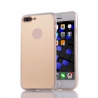 Protective TPU + PC Mirror Back Case Cover for IPHONE 7 Plus - Golden