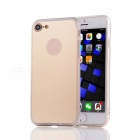 """Protective TPU + PC Mirror Back Case Cover for IPHONE 7 4.7"""" - Golden"""