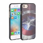 3D HD Three Dimensional Embossed Back Case for IPHONE 7