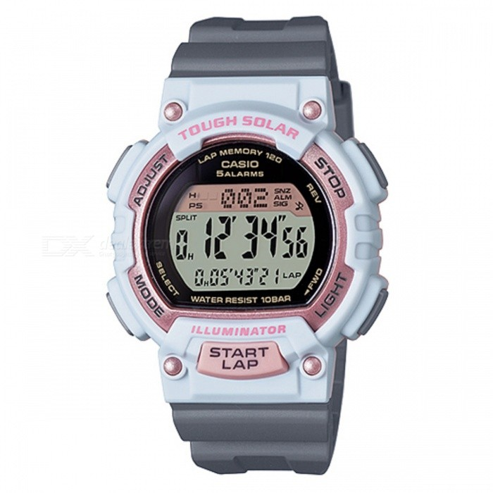 Casio STL-S300H-4ADF Sport Watch - White + Purple (Without Box)
