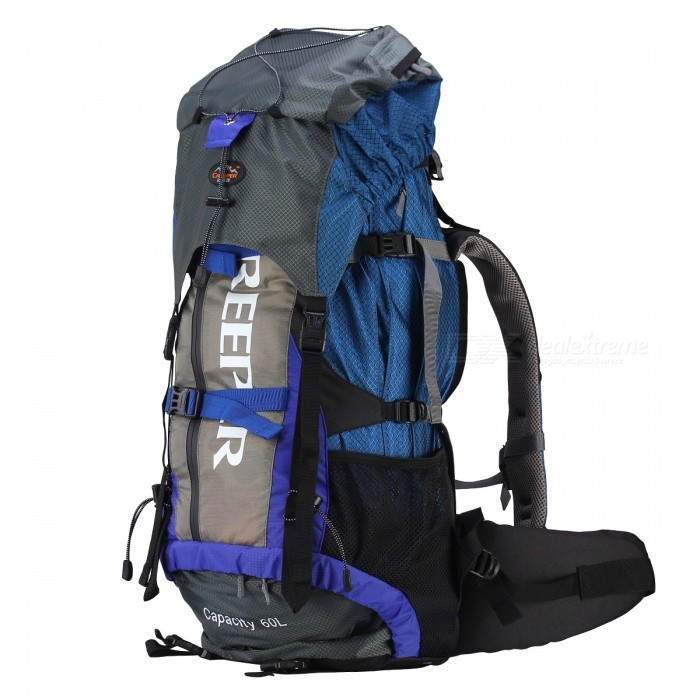 Creeper Outdoor Large-capacity Mountaineering Backpack - Blue (60L)
