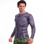 Outdoor Multi-functional Polyester Fiber Long-sleeved Men's T-shirt