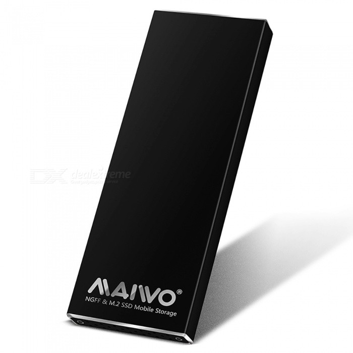 Maiwo K16N USB3.1 To NGFF Mobile Hard Disk Drive Enclosure - Black