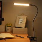 YouOKLight 3W 3-Mode Touch Dimmable USB 36-LED Reading Lamp - Silver