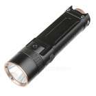Aluminum Alloy XM-L Cree 1200lm Waterproof Rechargeable Flashlight w/ Anti-slip Grip
