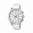 Casio SHE-5020L-7ADR Analog Watch - Silver/White (Without Box)