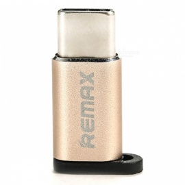 REMAX OTG Micro USB to Type-C Adapter for Fast Charging - Silver