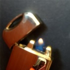Innovative Premium Yoyo Electronic Gas Cigarette Lighter - Golden
