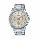 Casio MTP-1375D-7A2VDF Analog Watch - Silver (Without Box)