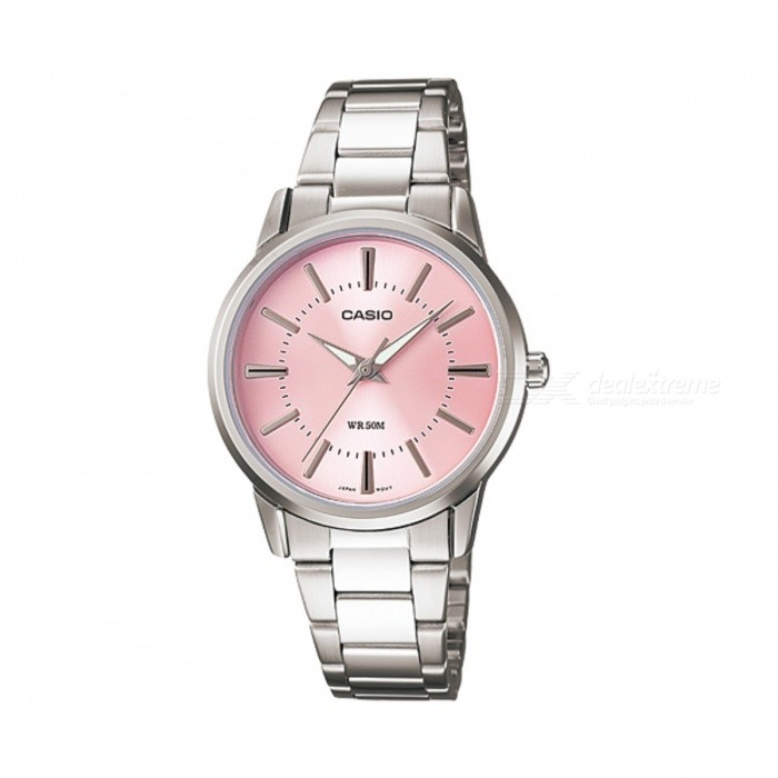 Casio LTP-1303D-4AVDF Analog Watch - Silver + Pink (Without Box)