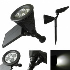 Ismartdigi G4LED Inserted Ground Lamp 2W for Outdoor Garden - Black