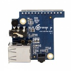 Orange Pi Expansion Board w/ 2 USB Interfaces for Orange Pi Zero -Blue