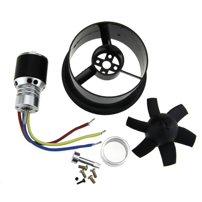64mm Duct Fan + 4800KV Brushless Motor 64mm duct fan 4800kv brushless motor