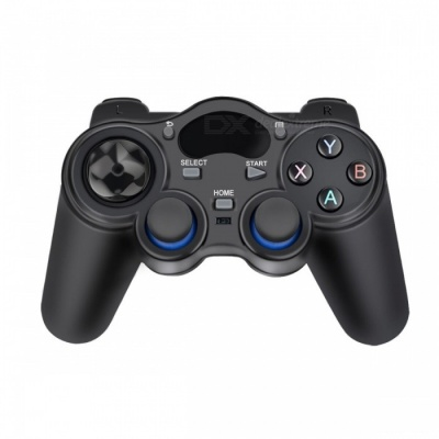 2.4G Wireless Game Controller Gamepad - Black