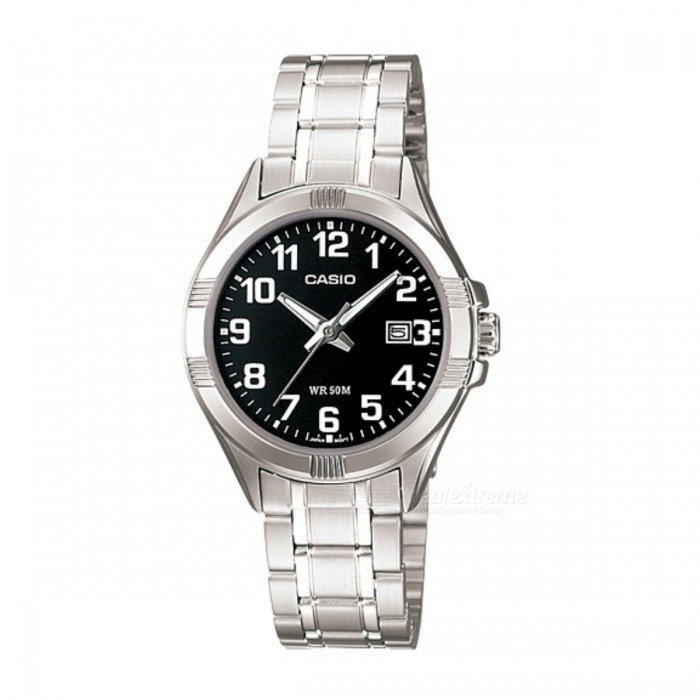 Casio LTP-1308D-1BVDF Analog Watch - Silver/Black (Without Box)