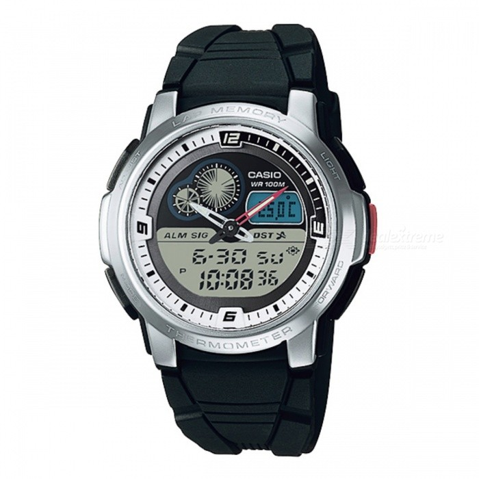 Casio AQF-102W-7BVDF Digital-Analog Watch - Silver/Black (Without Box)