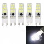 JRLED G9 3W LED Bulbs Cool White 16-SMD 5733 (AC 220V / 5PCS)