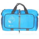 Hasky Multi-function Folding Nylon Bag for Travel Outdoors - Blue