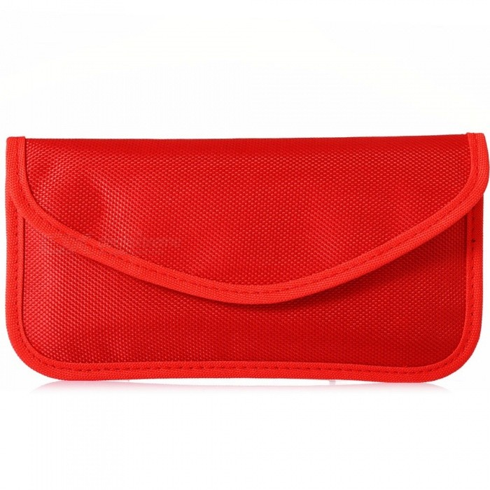 KELIMA Nylon Smartphone Signal Shielding Bag for Pregnant Women - Red