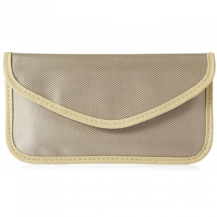 KELIMA Nylon Smartphone Signal Shielding Bag for The Pregnant - Golden