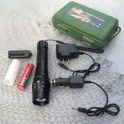 X9 High Power Rechargeable Zooming Lithium Battery LED Flashlight